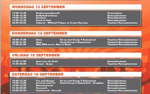 Programma Oranjeweek 2017