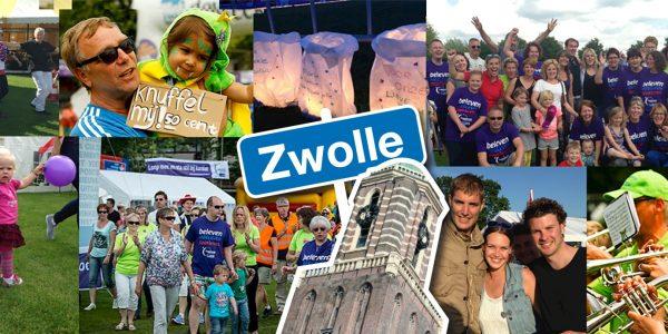 26 En 27 Mei 2018: KWF SamenLoop Voor Hoop Zwolle