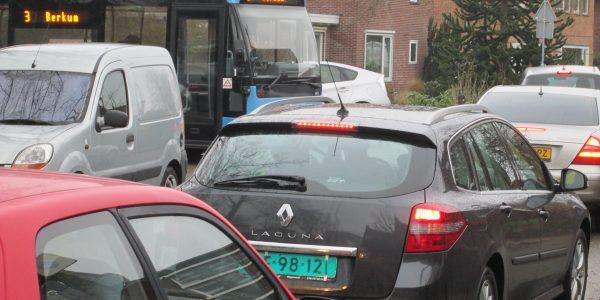 Verkeerschaos In Berkum