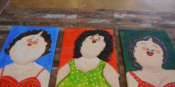 Weij Senioren: Dikke Dame Schilderen Op Herhaling