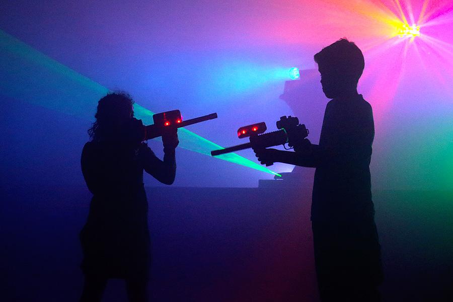 Vrijdag 22 Juni: Lasergamen